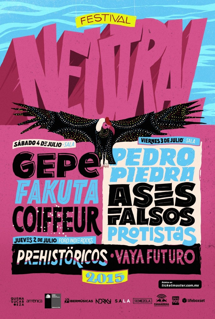 Festival Neutral México 2015.