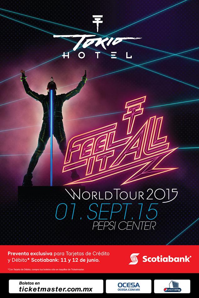 Tokio Hotel regresa a México.