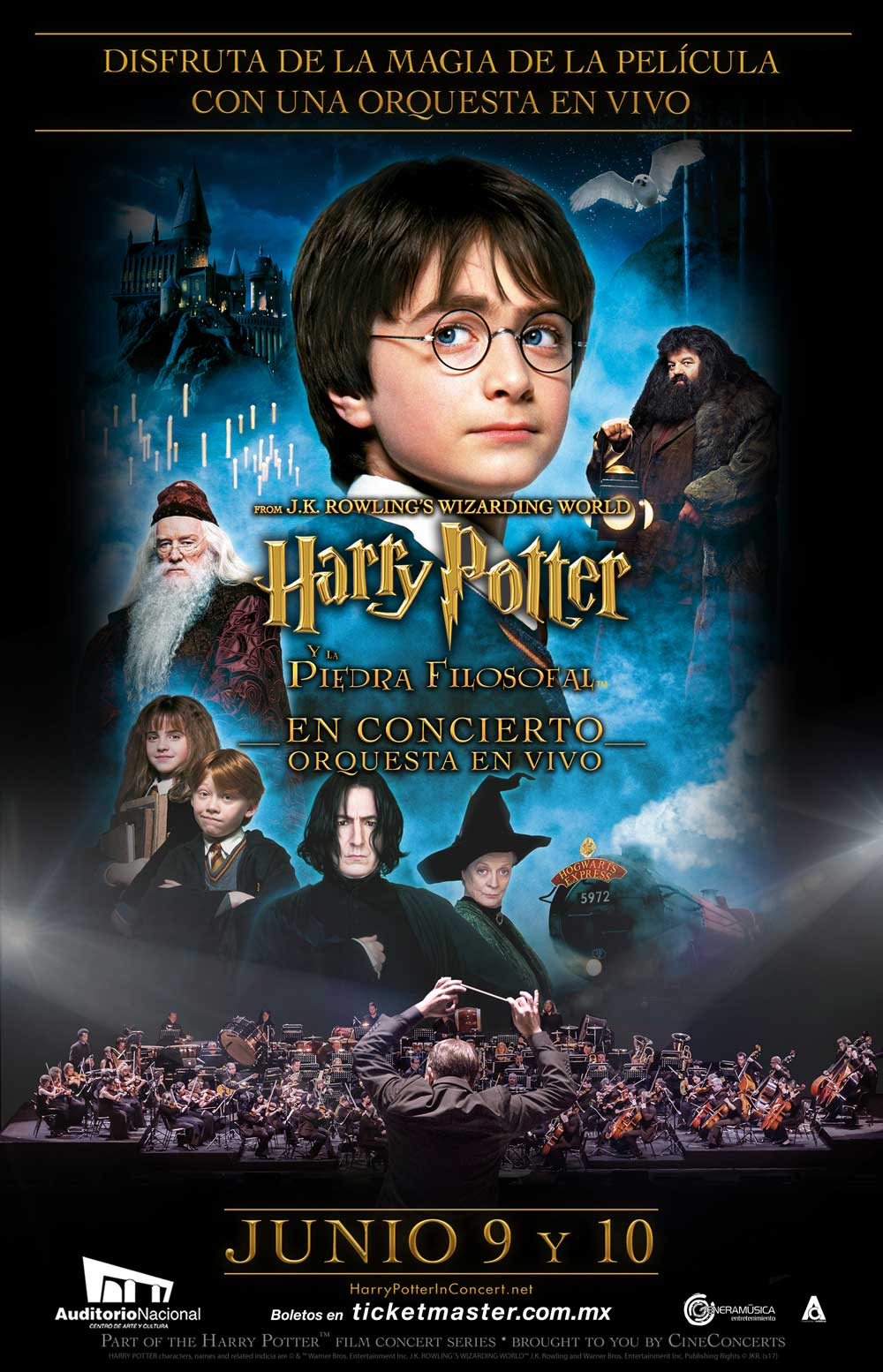 Harry Potter con orquesta en vivo en Auditorio Nacional – Reconoce MX
