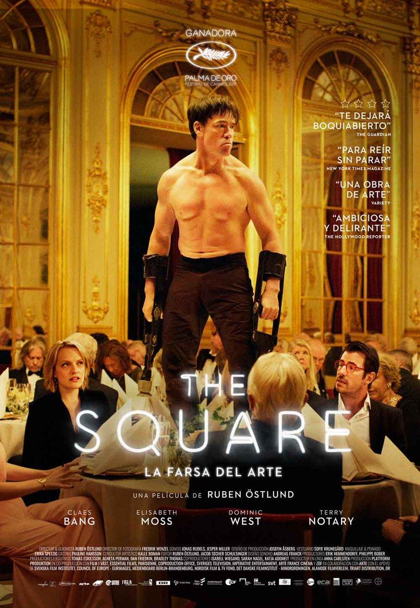 """The Square, la farsa del arte"""" a la 63 Muestra Internacional de Cine ..."""