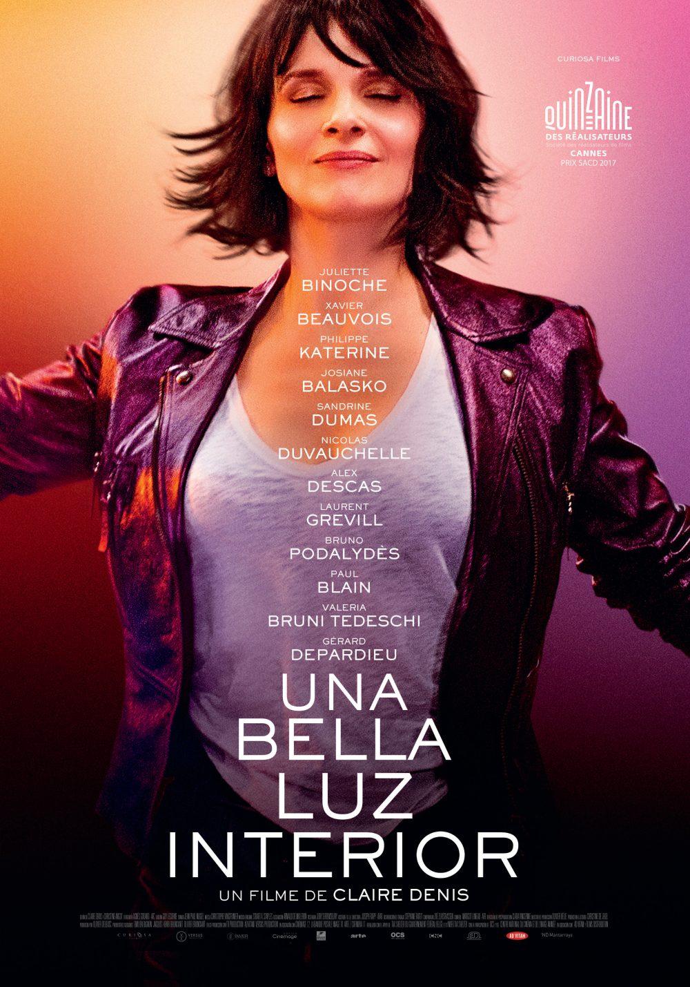 """Dirigida por la francesa Claire Denis llega a cines erciales su más reciente pelcula """"Una bella luz interior"""" Basada de manera muy sutil en """""""