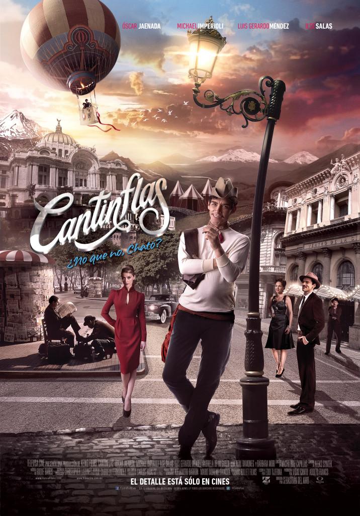 'Cantinflas', una cinta llena de nostalgia y con un Cantinflas sorprendente.