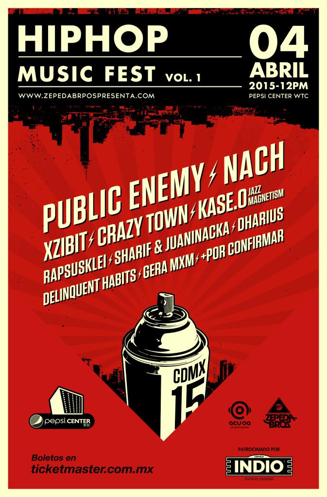 Hip-Hop Music Fest Vol. 1 en el Pepsi Center WTC.