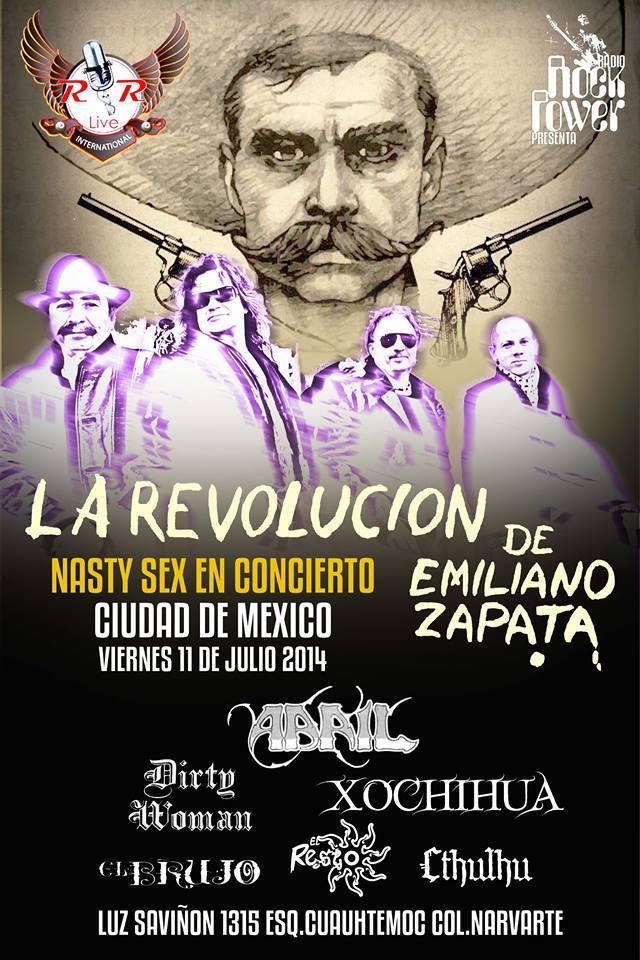 La Revolución de Emiliano Zapata en la ciudad de México.
