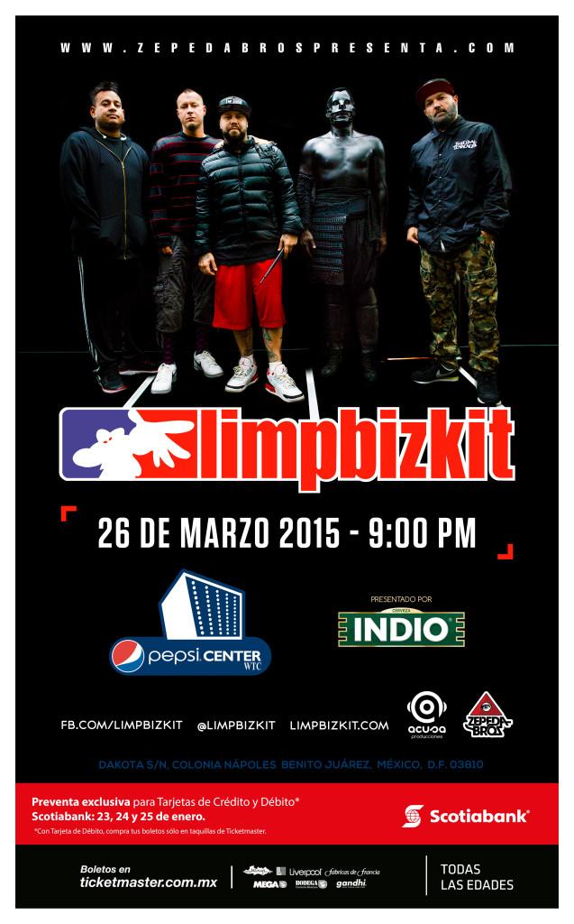 ¡Limp Bizkit regresa a México!
