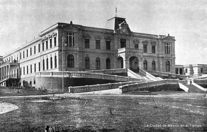 El edificio del Manicomio General