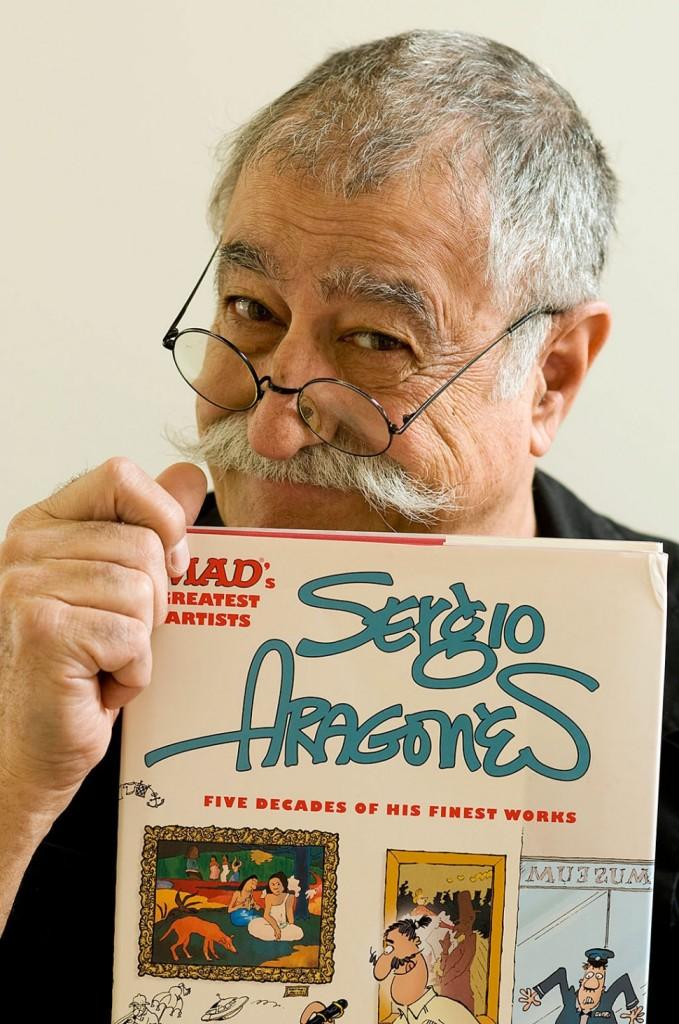 Entrevista: Sergio Aragonés en FESTO Cómic 2014, parte 1.