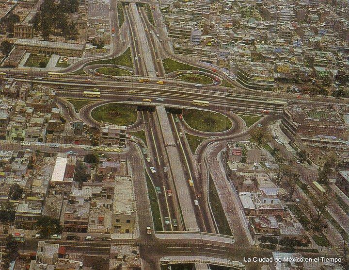 Un Viaducto con tránsito ligero