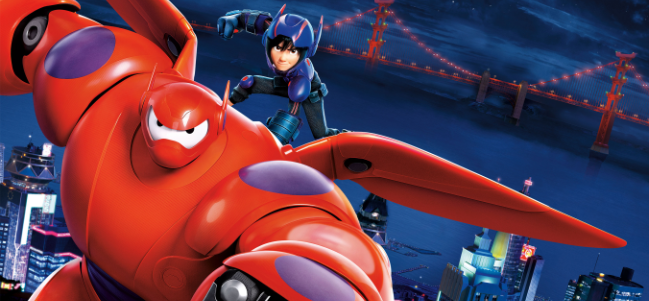 'Big Hero 6', un gran equipo de superhéroes.