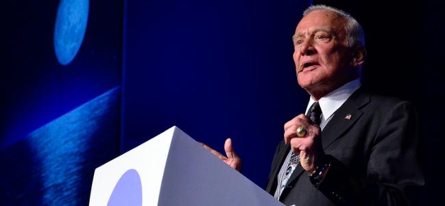 #CPMX4: Buzz Aldrin.