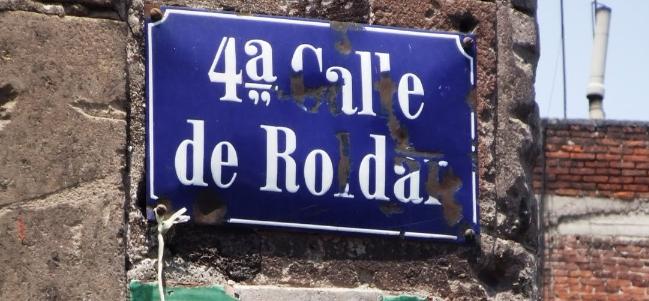Calles de México: La calle de Roldán, antes Embarcadero.