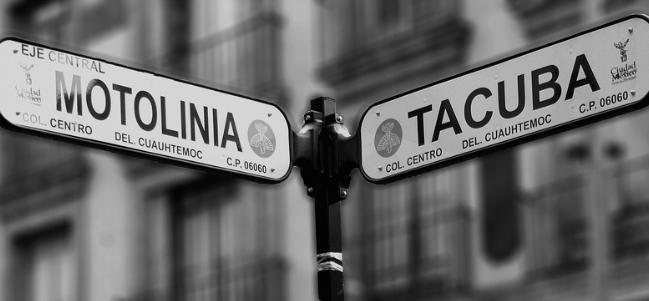 Calles de México: La calle de Tacuba.