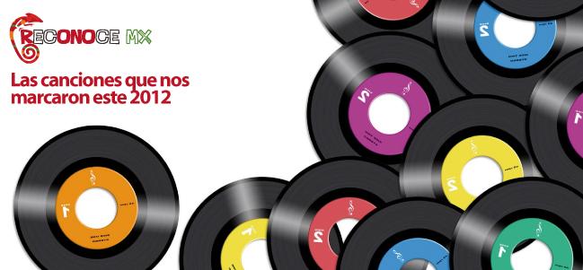 Las canciones que nos marcaron este 2012.