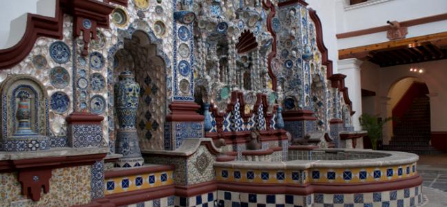 Una casa colonial en el corazón de San Ángel.