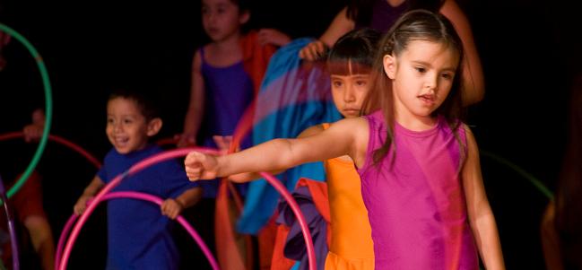 Danzarines: danza lúdica para niños y jóvenes.