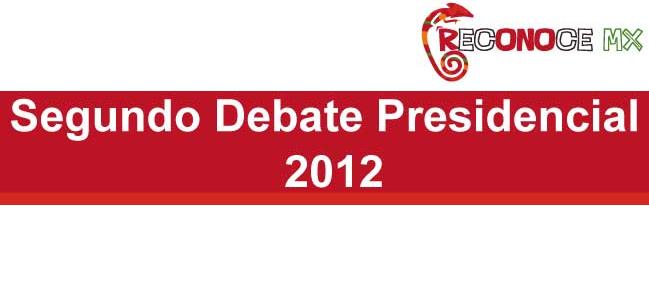 México 2012: Segundo Debate Presidencial.