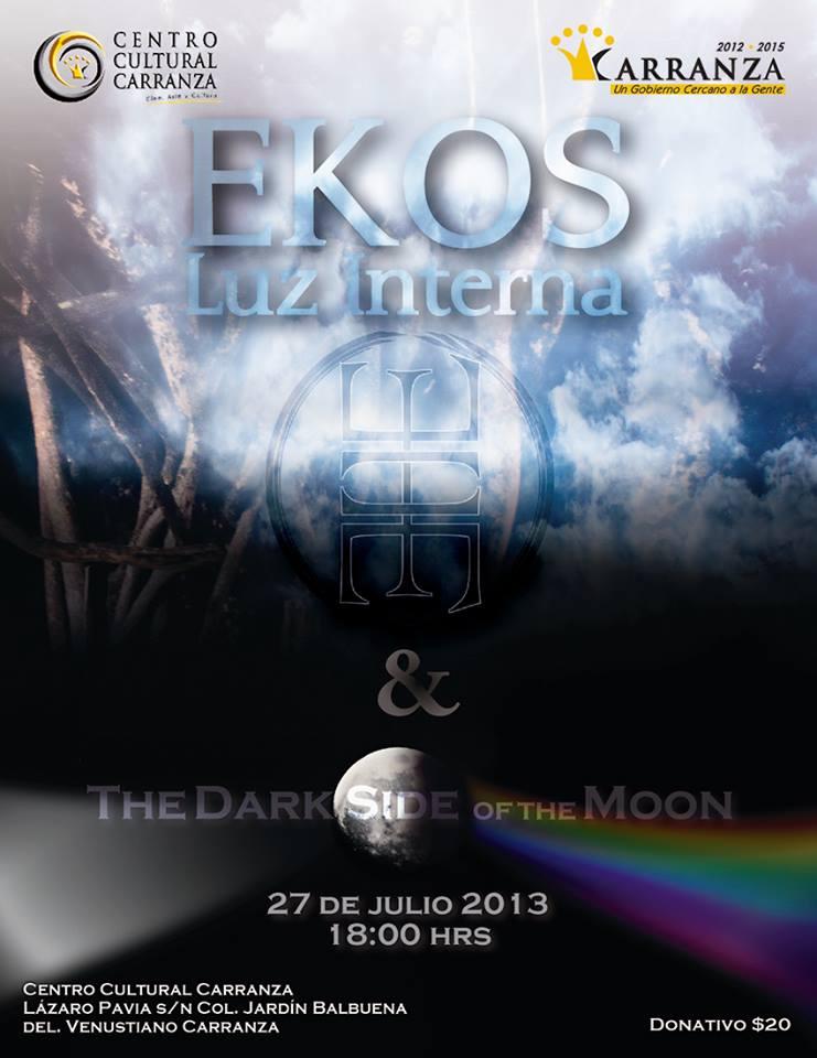 Ekos, 27 de julio, Centro Cultural Carranza.