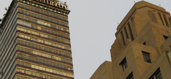 El primer rascacielos de la ciudad de México.