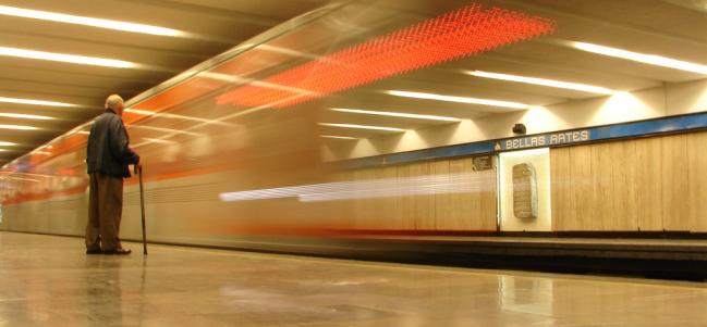El Metro: espacio móvil de reflexión.