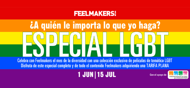 "Feelmakers dedica tres ""Especiales Feel"" en junio a films de temática LGTB."