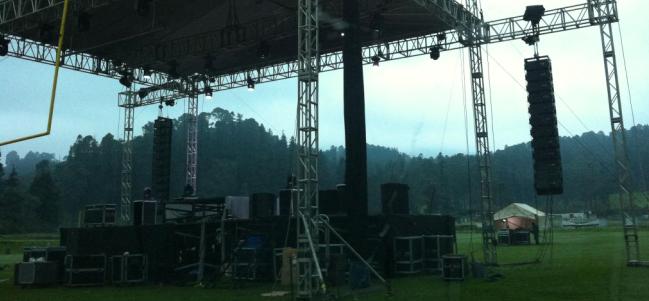 Terminó de manera anticipada el Festival Ajusco 2012.