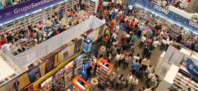 ¡Vámonos a la XXXVI Feria Internacional del Libro del Palacio de Minería!