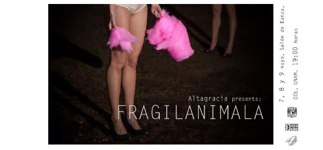 F R A G I L A N I M A L A por ALTAGRACIA.