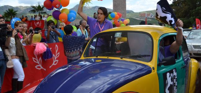 ¡Inició el V Rally Universitario en el Festival Internacional de Cine de Guanajuato!