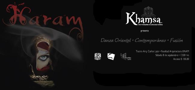 HARAM: un espectáculo de danza oriental, contemporáneo y fusión.