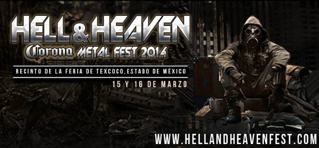 Hell and Heaven Metal Fest México, 2014.