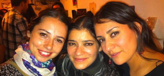 Adriana, Marién y Selene (de izquierda a derecha).