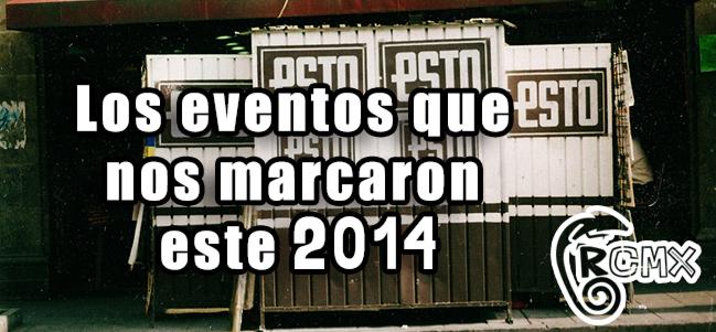 Los eventos que nos marcaron este 2014.