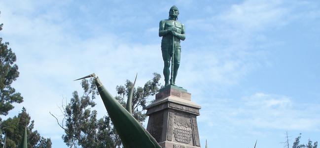 Calles de México: El Parque del Mestizaje y sus Indios Verdes.