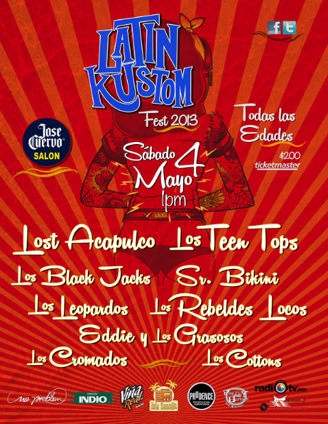 Latin Kustom Fest 2013, rockabilly & surf.