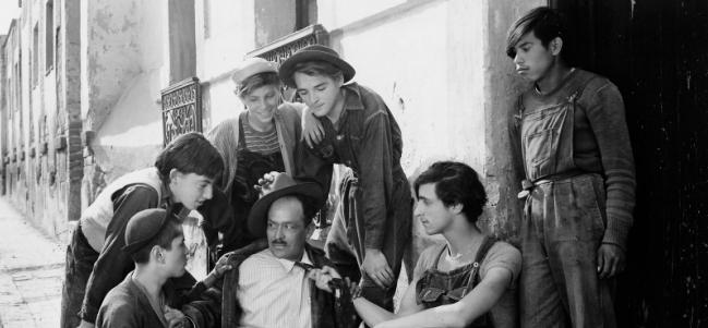 De Luis Buñuel: Los olvidados.