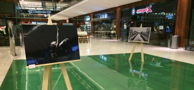 Exposición fotográfica de Niña Papalote Barbosa en Samara.