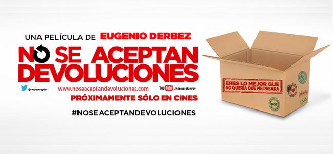 Trailer de 'No se aceptan devoluciones', película dirigida por Eugenio Derbez.