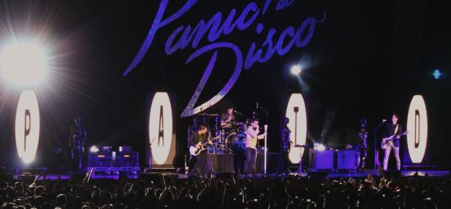 La noche mágica de Panic! at the Disco. (Foto: Sarah Zucca)