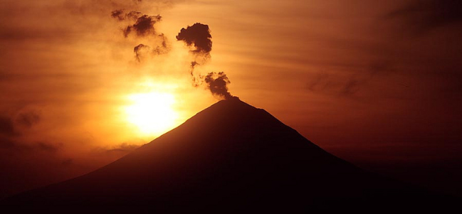 Popocatepetl.
