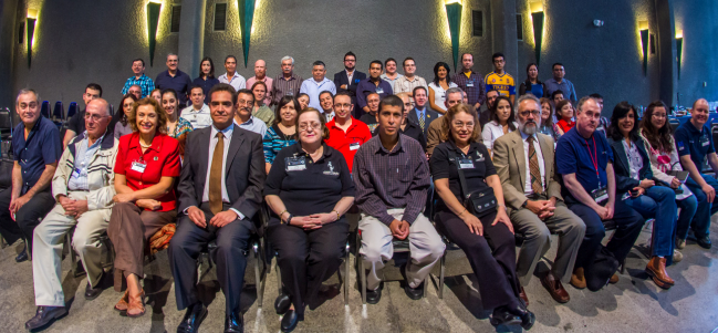Asistentes de la 23 Reunión Nacional de Aficionados a la Astronomía. (Foto: Marcel Barajas)