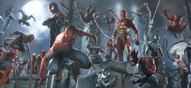 Los Spider-Verse de Spider-Man.