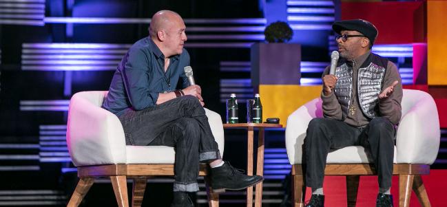#TagCDMX 2014 Día 2: El cineasta Spike Lee abrió las actividades del segundo día de Tag CDMX.