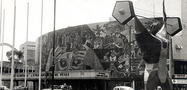 El Teatro Insurgentes fue sede del levantamiento de pesas.