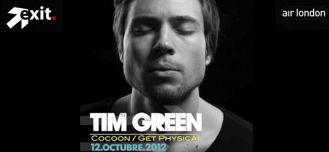1er Aniversario exit. / Tim Green en México.