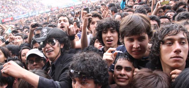 El ambiente se desata en el Vive Latino. (Foto OCESA/ Salvador Bonilla).