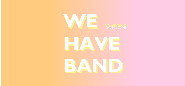 Jueves independiente: 'Someone', de We Have Band.