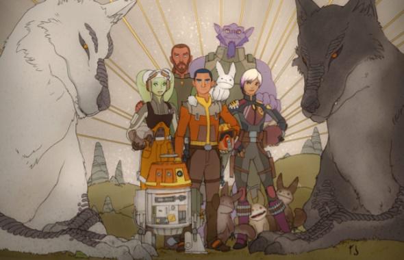 Momentos de 'Star Wars Rebels' temporada 4 (final) « Reconoce ...